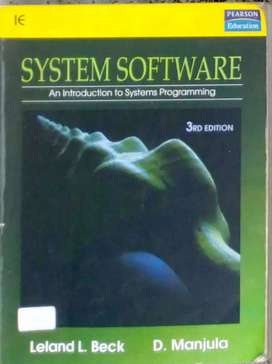 System Software: An Introduction to Systems Programming, 3e
