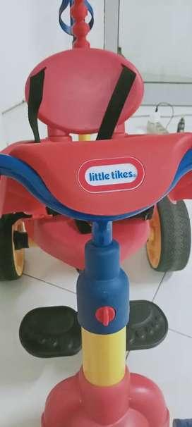 Sepeda anak roda tiga little tikes