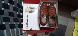 Hush puppies pure leather shoes sandel no 10