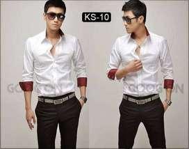 Kemeja Putih Comby Korean Style