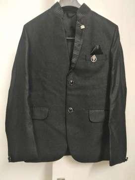 Men Black Suit - Partywear