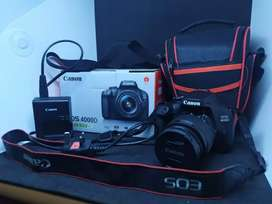 Di jual camera DSLR canon eos 4000d