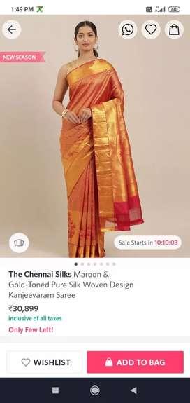 New saree Discount 90