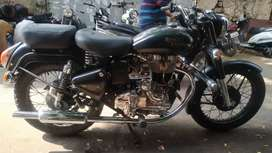 Royal Enfield Electra with VIP number 0786