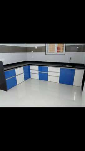 Modular Kitchen trolley in factory rate.
