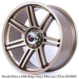 Big sale Velg BORAH JZ8013 HSR R22X95 H6X139,7 ET20 SMBRZ