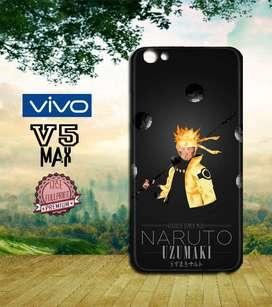 Dijual Custom Casing HP Vivo V5 Max motif Naruto Shippuden