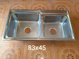Bak cuci piring 2 lubang