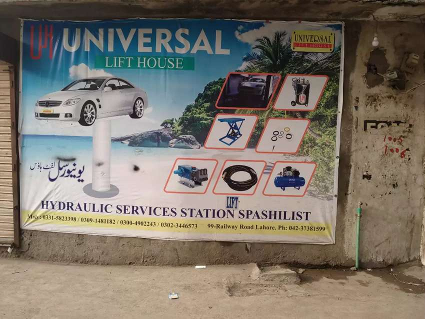 car wash lift 4 to 20 tons Lifts available