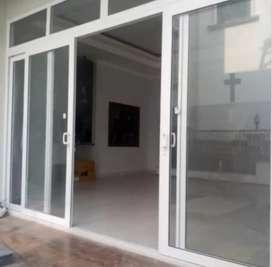 Kami bengkel las nerimah pembuatan kusen pintu @4550