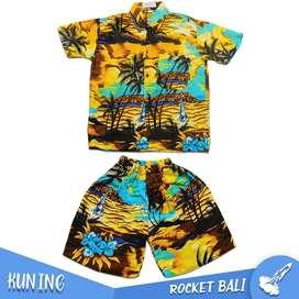 Baju Dan Celana Pantai Anak - Set Baju Pantai Anak - Baju Pantai Anak