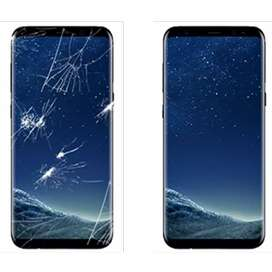 Galaxy S8,S8+ Plus,Note 8 ka Glass change karwain Intahai Kum rate mai