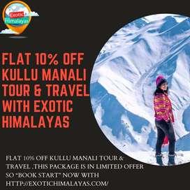 Kullu Manali Tour & Travel Package with  Exotic Himalayas