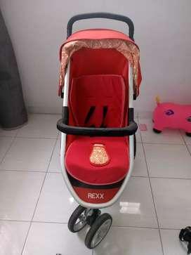 Stroller Chocolate Rexx