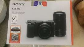 Sony A6100 Mirrorless Camera with 16-50mm and 55-210mm
