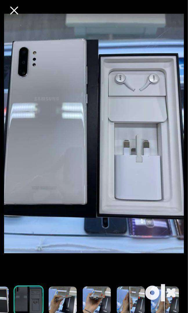 Samsung note10 plus available with all accessories and warranty
