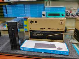 DESKTOP FULL SET(I3/4GB/500GB/18.5LED/K&M)1YRW