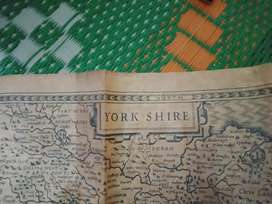 400 years old map for sale