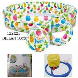 Kolam intex motif fruity