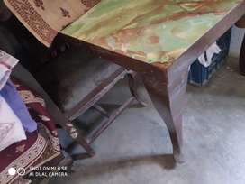 Dinning table and dressing table