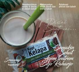 Kopi kelapa sachet (5 sachet)