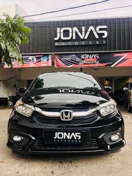 Honda Brio E 1.2 CVT 2019 Hitam Metalik (D) Bandung Antik Seperti Baru