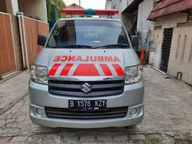Ambulance apv arena multifungsi 2015 silver interior semua baru mrh