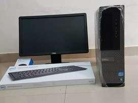 Dell i5 3rd Generation 4GB 500 GB Desktop Available