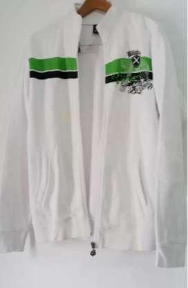 Freee- -Kirim2COD Jacket Surfing Ok Putih Bersih Size M FIt L Ori Good