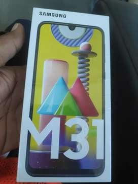 Samsung galaxy M31 sealed piece one year warranty