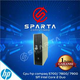 Pc desktop hp compaq  core 2 duo ddr2