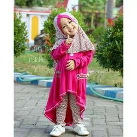 setelan muslim anak perempuan | farah set | stelan baju anak cewe