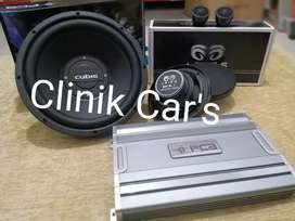Split aries, power pca& subwoofer cubig**