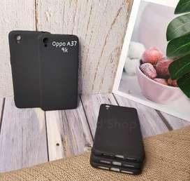 Case Silikon Tpu Polos Black Oppo A37 Casing Softcase Ultra Silm Black