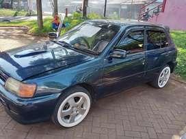 Dijual Toyota Starlet turbolook'97