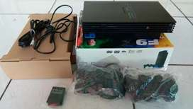 PS 2 Fat + Hardisk eksternal 60 Gb