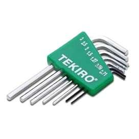 Kunci Tekiro 7 Piece Mini L Hex Key
