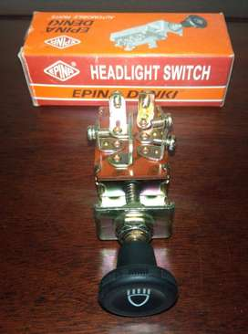Imported 3 Point Pull Light Switch For Car Jeep Dashboard