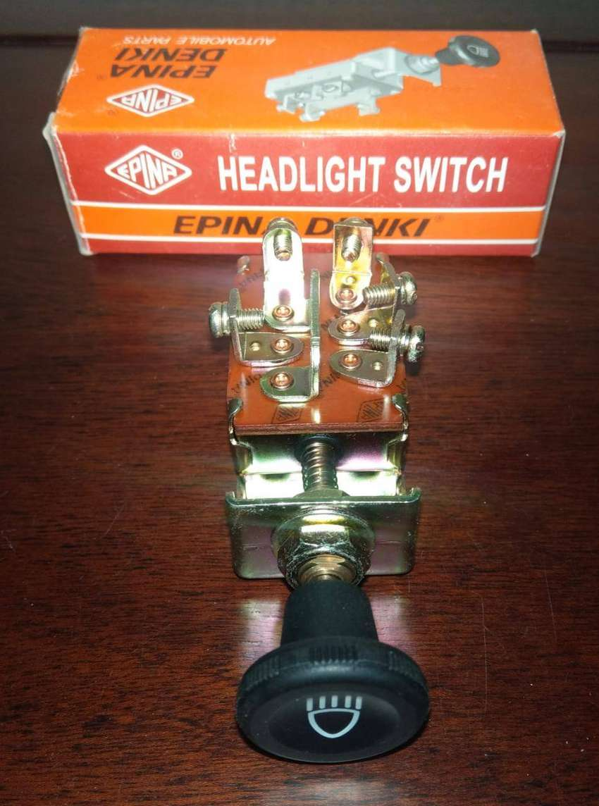 Imported 3 Point Pull Light Switch For Car Jeep Dashboard 0