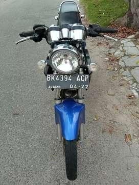 Kawasaki Ninja SS tahun 2012 kondisi terawat pajak plat hidup