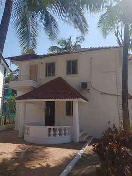 Independent villa 3bhk semi furnished prime location Porvorim