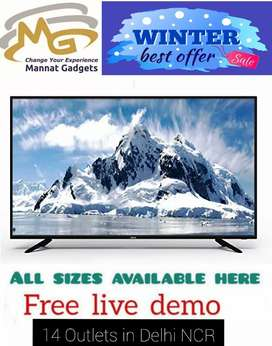 50 inch smart LED TV {Picture quality is very good for the price}
