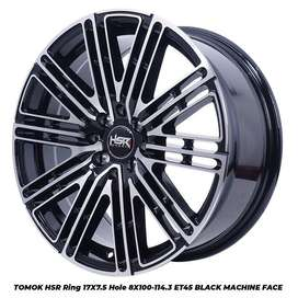 velg racing tegal TOMOK HSR R17X75 H8X100-114,3 ET45 BMF
