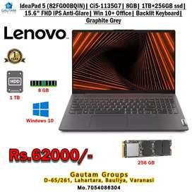 Legion5 i5 8GB 1TB+256 SSD Nvidia GeForce GTX 1650 4GB  Win10+Office