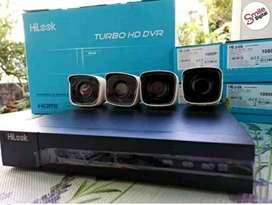 Paket lengkap CCTV kamera 2 MP online via smartphone ( HiLook)
