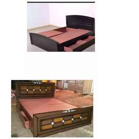 Brand new double cot queen size box 10999