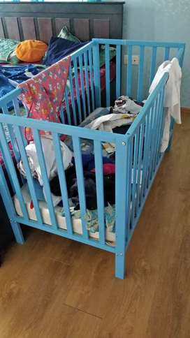 Baby Crib along with baby bed