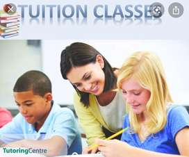 Tuition classes from 1st-8rth