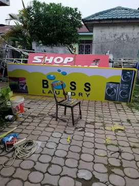Neon box, shopsign, plank merek, baliho dll