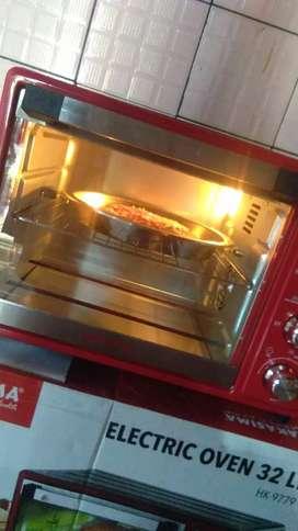 Oven listrik 32ltr..kondisi baru..